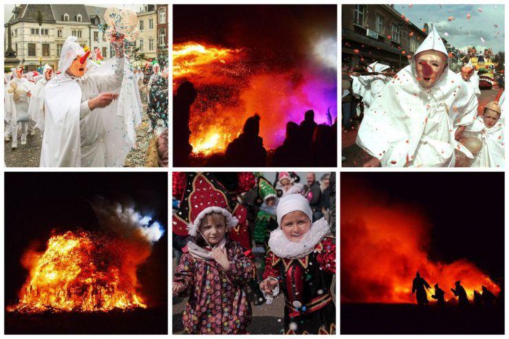 En Valonia los carnavales tienen una esencia que no desparece, ni siquiera con la pandemia