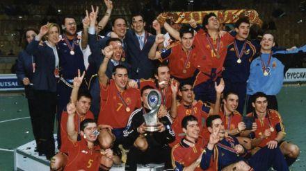 20 años del segundo Europeo de la Selección Española de Fútbol Sala