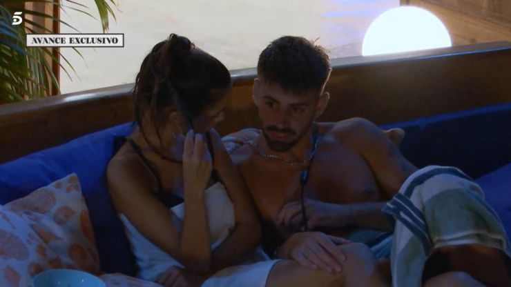 Isaac a Lucía en la piscina: 'Yo hago lo que me apetece en cada momento'
