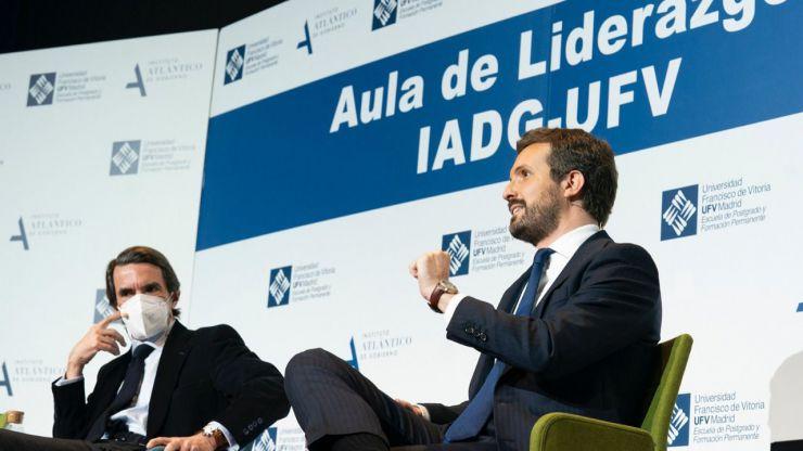 Casado reivindica el legado de Aznar que supuso