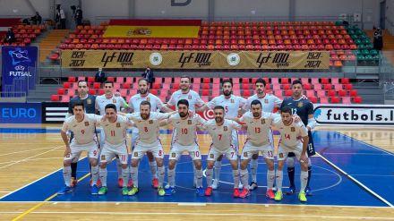 España golea a Letonia y saca el billete para la UEFA Futsal EURO 2022 de Países Bajos (1-12)