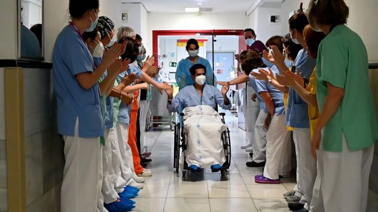 El Hospital Gregorio Marañón da el alta a su paciente 5.000 ingresado por Covid-19