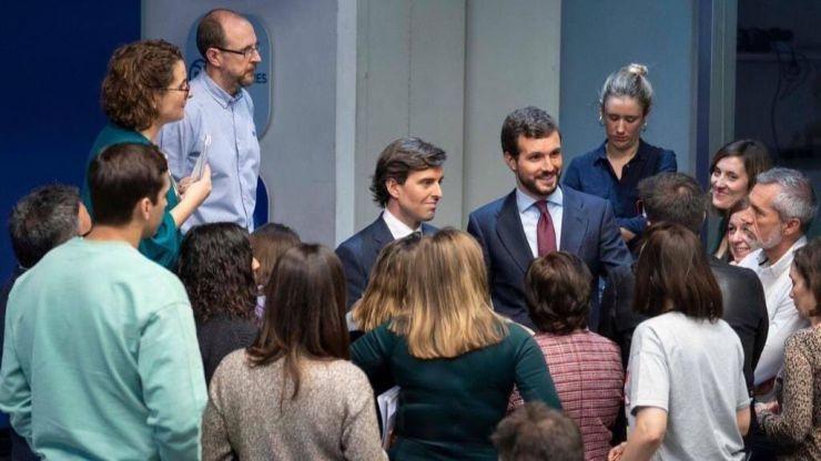 Montesinos acusa a Sánchez de tener un Gobierno
