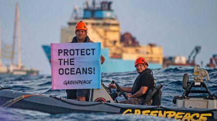 Greenpeace planta cara a la industria de la minería submarina en alta mar