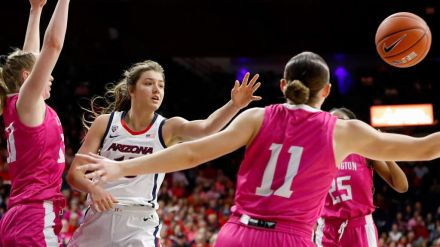 Helena Pueyo: 'Nunca pensé que pudiésemos jugar una final de la NCAA'