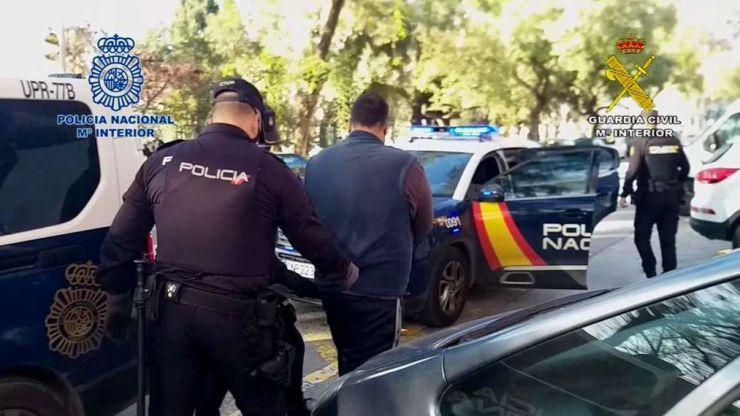 Desarticulada una red de narcotráfico que operaba por mar, desde Ceuta y Marruecos hasta Málaga