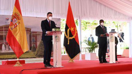 Pedro Sánchez defiende en Angola la asociación estratégica de España con África