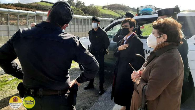 60 subsaharianos intentan entrar en Ceuta ante una devolución en caliente 'inexistente'