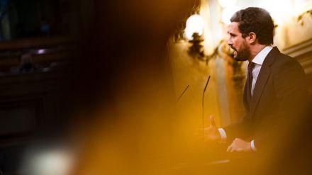 Casado acusa a Sánchez de interpretar 'la novena sinfonía del autobombo y el enredo'
