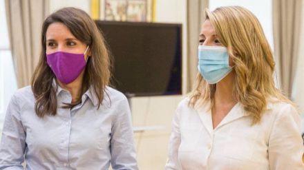 Yolanda Díaz e Irene Montero presentan la Herramienta Española de Igualdad Retributiva IR!