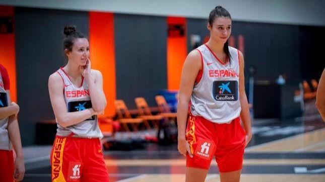 Baloncesto: Raquel Carrera y Aina Ayuso, elegidas en el draft de la WNBA