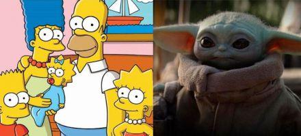 'Los Simpsons' supera en visualizaciones a 'The Mandalorian'