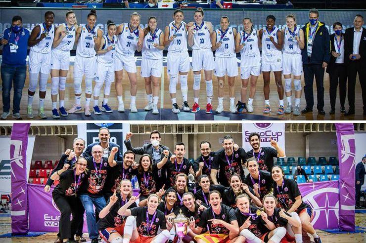 Competiciones internacionales: Los equipos españoles brillan en Europa