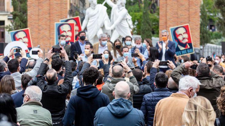 Bal: 'Cs estará en el Gobierno de la Comunidad de Madrid y comenzará una revolución pacífica y cívica'