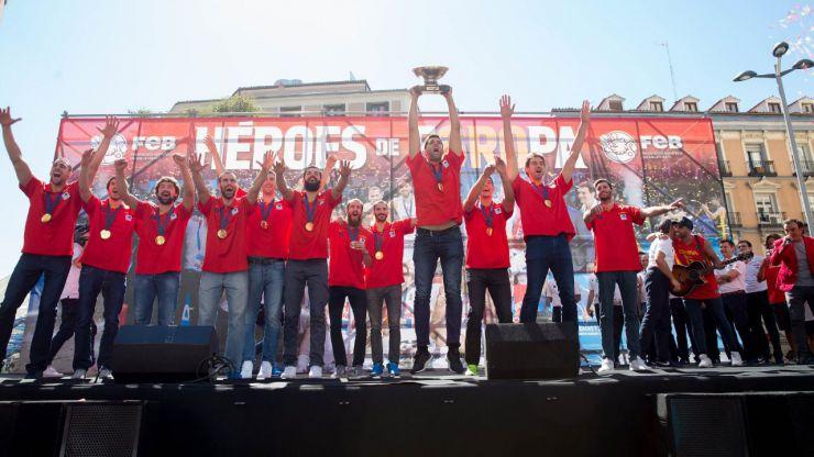Baloncesto: España conoce este jueves rivales y sede de la primera fase del Eurobasket 2022