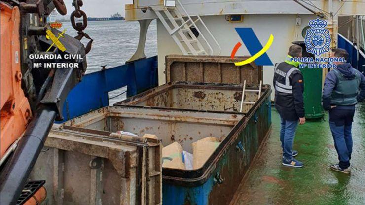 Más de siete toneladas de hachís: nuevo golpe al narcotráfico del Estrecho