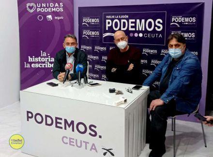 Un 'invitado' enturbia la inauguración de la sede de Podemos en Ceuta