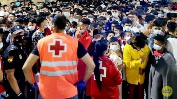 Irrisorio: Belarra solo propone acogida para 200 menores de los 1.500 migrados a Ceuta