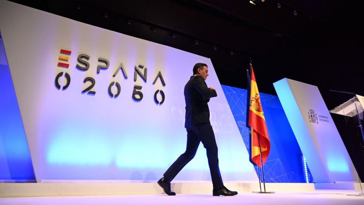 Sánchez presenta 'España 2050', un