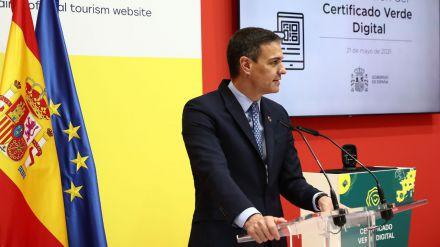 Sánchez presenta el Certificado Digital Covid aprobado por la UE con el objetivo de reactivar el turismo y la economía