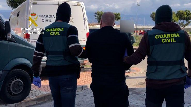 Seis detenidos por su implicación en el asesinato de una persona en Aguadulce
