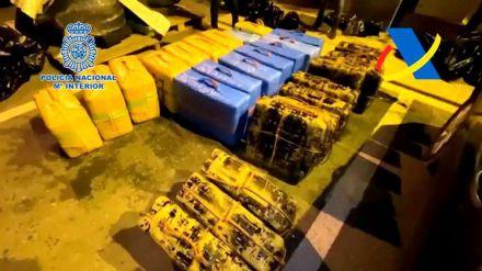 Intervenidos 1.600 kilos de hachís y desmantelada una organización liderada por un histórico narco británico
