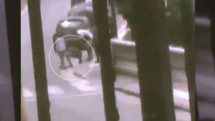 Se graba en Ceuta disparando contra un menor migrante y se mofa cuando cae al suelo