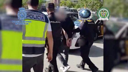 La Policía detiene a un sicario buscado en Colombia por su implicación en más de 100 homicidios