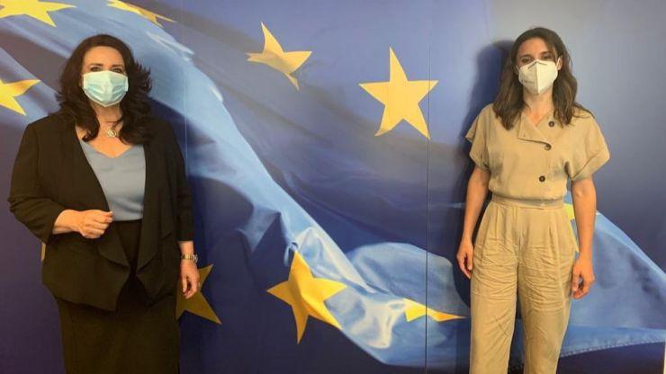 Irene Montero apuesta por una alianza feminista europea