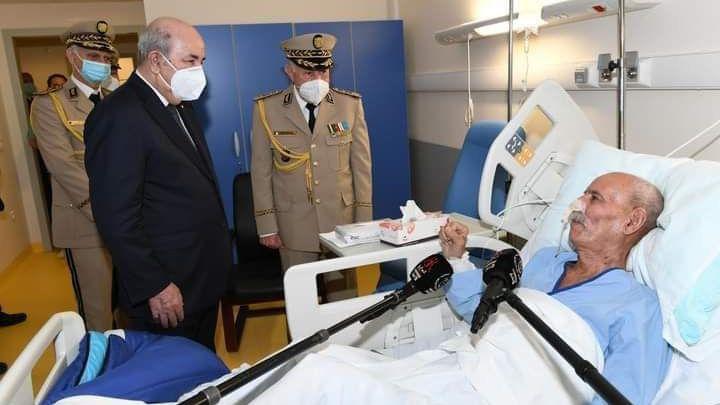 Brahim Ghali abandona España tras ser interrogado por la Audiencia Nacional