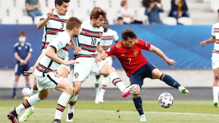 Sub-21: España cae con honores ante Portugal (0-1)