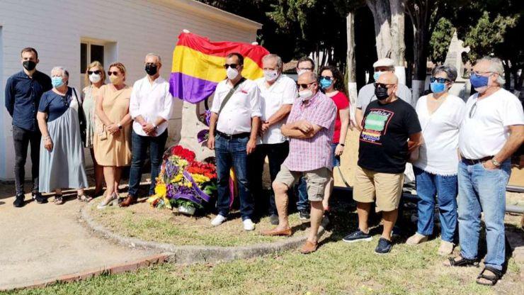 El Foro por la Memoria recuerda y homenajea a las víctimas del fascismo