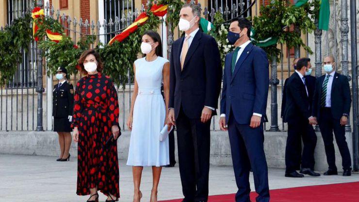 Felipe VI recibe la primera Medalla de Honor de Andalucía