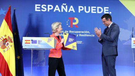 Bruselas da luz verde al plan de recuperación español con toque a la oposición