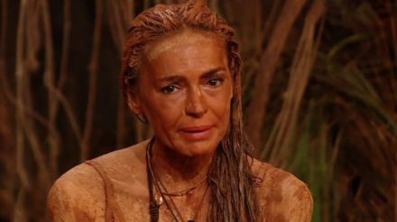 Olga Moreno pillada escondiéndose comida en 'Supervivientes'