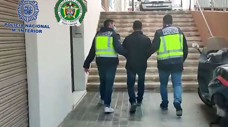 La Audiencia Nacional accede a la entrega de 'El Zarco' a Colombia