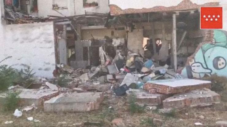 Pozuelo comienza las obras necesarias para garantizar la seguridad del edificio afectado por la explosión