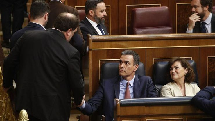 Sánchez tras conceder los indultos: