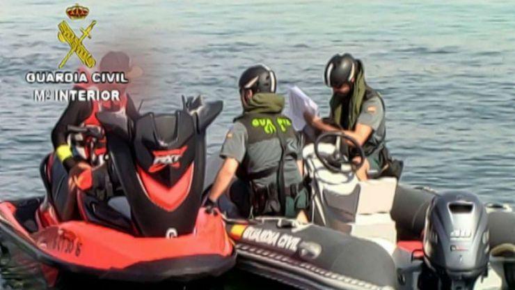 La Guardia Civil controlará las embarcaciones deportivas, de recreo y motos náuticas