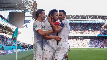 El Croacia-España marca un enorme 57,7% con 7 millones de espectadores