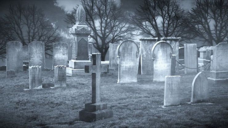 Meditación en un cementerio
