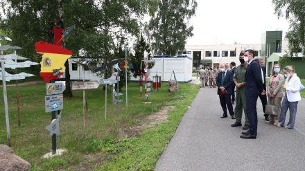 Alerta 'Alfa scramble' durante la visita de Pedro Sánchez a Lituania
