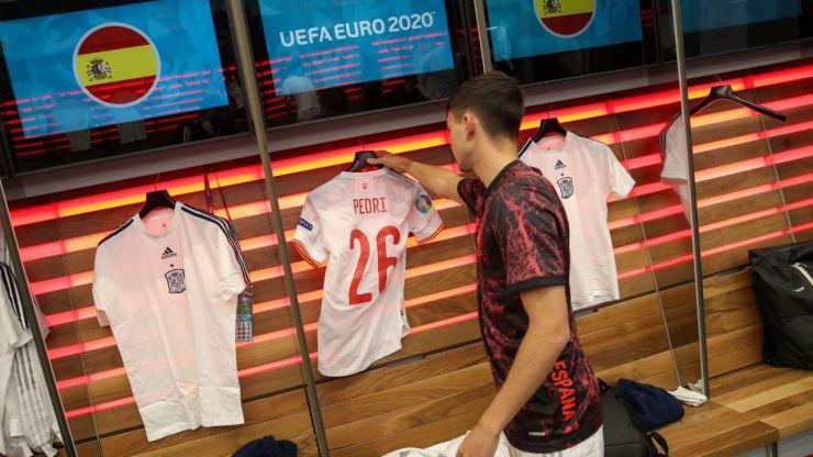 Pedri promete: La UEFA le incluye en el 11 ideal de la Eurocopa