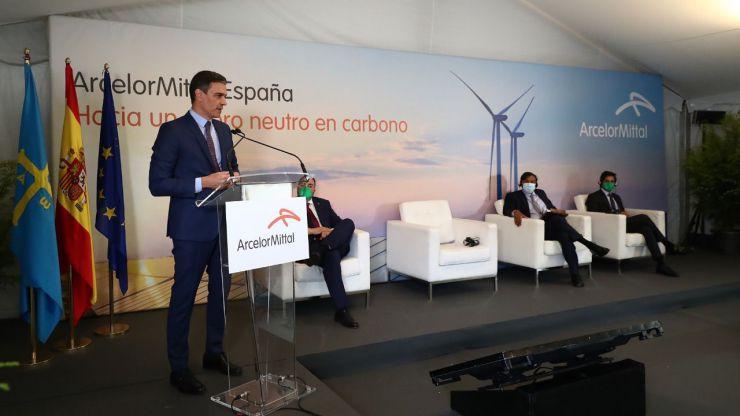 Sánchez señala a España como referente mundial en la descarbonización de la producción de acero