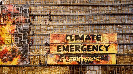 Greenpeace responde al paquete de medidas de la CE para reducir las emisiones un 55%