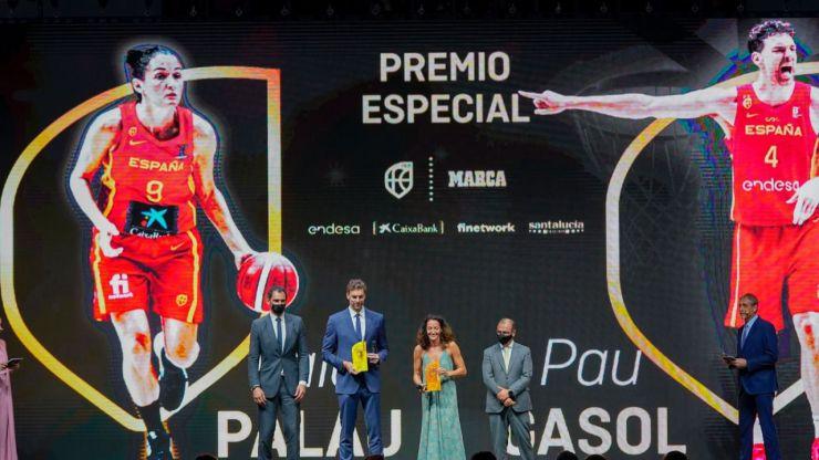 El baloncesto español se reúne para celebrar sus Premios 2021