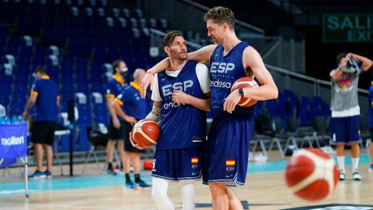 Pau Gasol y Rudy Fernández y su salto hacia la historia del baloncesto