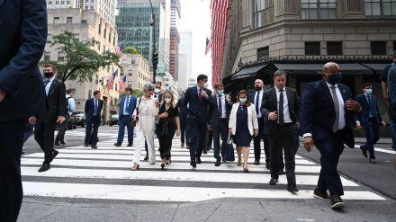 Sánchez inicia en Nueva York un viaje de promoción económica y de inversión a Estados Unidos