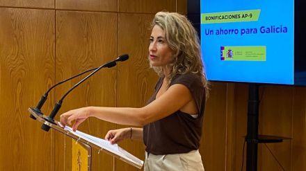 Raquel Sánchez: 'Vamos a llegar a tiempo con Galicia'