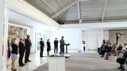Sánchez preside las tomas de posesión de altos cargos del Gobierno